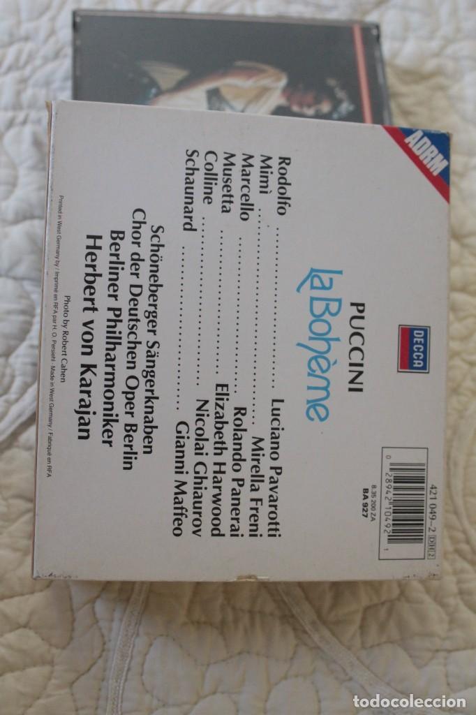 CDs de Música: Cinco Óperas con libreto.Pavarotti...NUEVAS, paga una, lleva 5. - Foto 7 - 201988677