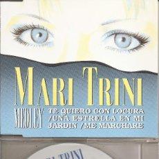 CDs de Musique: MARI TRINI - MEDLEY (CDSINGLE CAJA PROMO, HISPAVOX 1994). Lote 202005202
