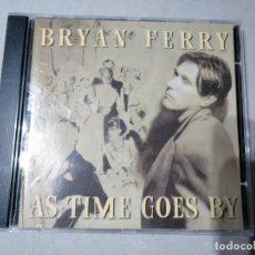 CDs de Música: BRYAN FERRY - AS TIME GOES BY - CD. Lote 202040467