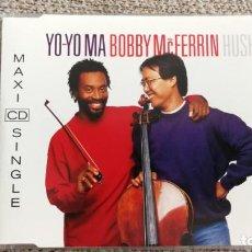 CDs de Música: CD SINGLE MAXI PROMO - YO-YO MA & BOBBY MCFERRIN - HUSH EXC. Lote 202078661
