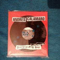 CDs de Música: PEDIDO MÍNIMO 5€ OFERTA NAVIDAD ANDRÉS CALAMARO SALMONALIPSIS NOW 2CD NUEVO. Lote 202083096
