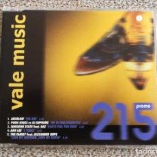 CDs de Música: CD MAXI SINGLE PROMO - VALE MUSIC PROMO 215 EXC. Lote 202084406