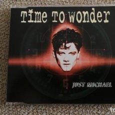CDs de Música: CD SINGLE MAXI - JUST MICHAEL - TIME TO WONDER REMIXESEXC. Lote 202088382