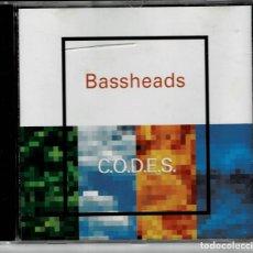CDs de Musique: BASSHEADS - C.O.D.E.S. / CD ALBUM DE 1993 RF-5632. Lote 202279833