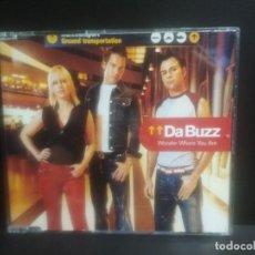 CDs de Música: DA BUZZ WONDER WHERE YOU ARE CD MAXI 4 TRACK 2002 EDEL PEPETO. Lote 202284907