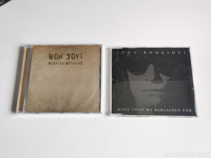 PACK BON JOVI SINGLE JON BON JOVI, MORE THAN WE BARGAINED Y CD BURNING BRIDGES (PRECINTADO) (Música - CD's Otros Estilos)