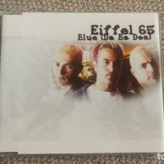 CDs de Música: CD SINGLE MAXI - EIFFEL 65 - BLUE (DA BA DEE) 6 TRACKS BLANCO Y NEGRO RECORDS EXC. Lote 202315433