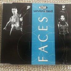 CDs de Música: CD SINGLE MAXI - 2 UNLIMITED - FACES 6 TRACKS EXC. Lote 202316583