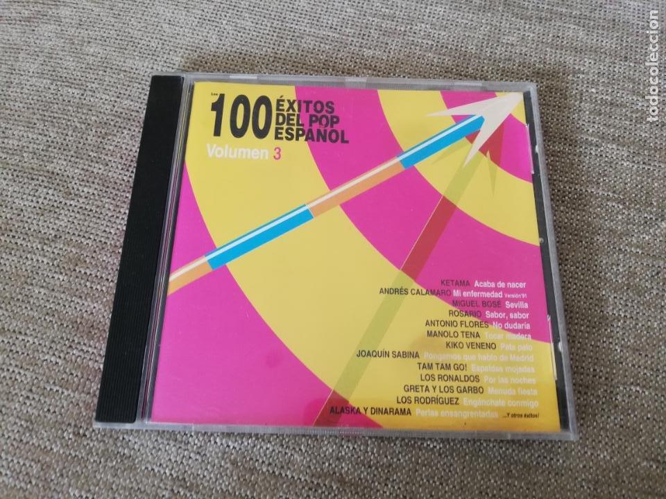 100 ÉXITOS DEL POP ESPAÑOL VOLUMEN 3 (Música - CD's Pop)