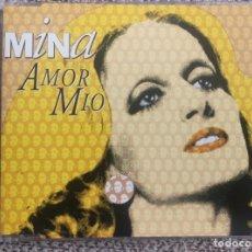 CDs de Música: CD SINGLE PROMO - MINA - AMOR MIO - MUY RARO EXC. Lote 202322800