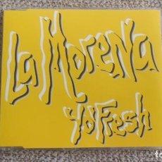 CDs de Música: CD SINGLE MAXI - YO'FRESH - LA MORENA - 5 REMIXES EXC. Lote 202323695