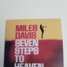 CDs de Música: MILES DAVIS SEVEN STEPS TO HEAVEN ( 1963 DOL 2017 ) FUNDA CARTON REPLICA DISCO ORIGINAL. Lote 278513033