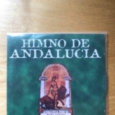 CDs de Música: HIMNO DE ANDALUCÍA - CONTIENE LA LETRA DE LAS CANCIONES - DISCOS MERCURIO S.A.. Lote 202417488