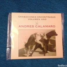CDs de Música: OFERTA FLASH NAVIDAD ANDRÉS CALAMARO GRABACIONES ENCONTRADAS VOLUMEN CD NUEVO LOS RODRÍGUEZ. Lote 202418336