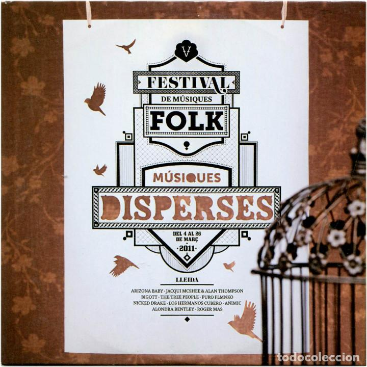 VVAA - MÚSIQUES DISPERSES 2011 - CD PROMO SPAIN 2011 - MUD 011 (Música - CD's Country y Folk)