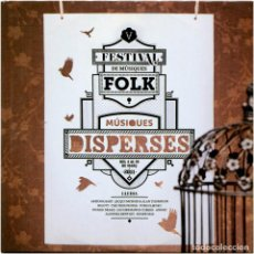 CDs de Música: VVAA - MÚSIQUES DISPERSES 2011 - CD PROMO SPAIN 2011 - MUD 011. Lote 202481921