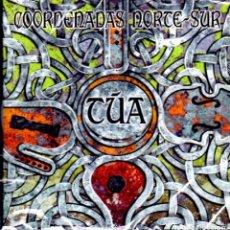 CDs de Música: TÚA - CD COORDENADAS NORTE SUR (2014). Lote 267408999