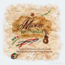 CDs de Música: AZARBE Y OTROS - CD MURCIA POR NAVIDAD. VILLANCICOS Y AGUILANDOS (ETNOMUSICA, 2012). Lote 278155548
