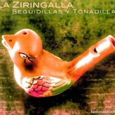 CDs de Música: LA ZIRINGALLA - CD SEGUIDILLAS Y TONADILLAS (2018). Lote 202570268