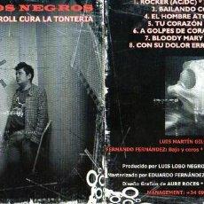 CDs de Música: LOBOS NEGROS - EL ROCK & ROLL CURA LA TONTERIA. Lote 211580165