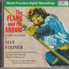 CDs de Música: MAX STEINER - THE FLAME AND THE ARROW - EL HALCON Y LA FLECHA - BANDA SONORA ORIGINAL - CD. Lote 202639917