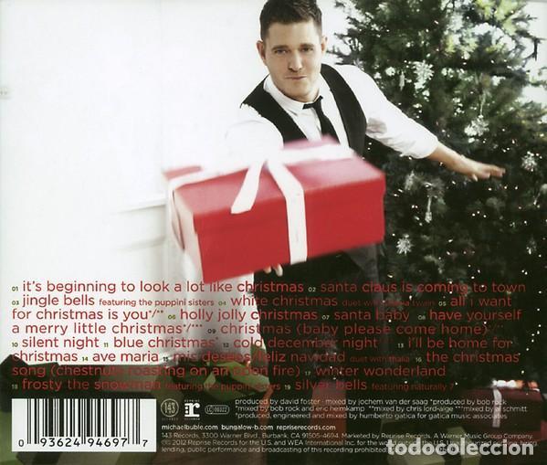 CDs de Música: Michael Bublé – Christmas Deluxe Special Edition - NUEVO Y PRECINTADO - Foto 2 - 227258550