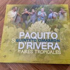CDs de Música: PAQUITO D'RIVERA AIRES TROPICALES CD COMO NUEVO. Lote 202677167