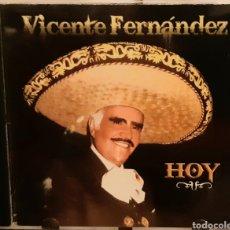 CDs de Música: MUSICA GOYO - CD ALBUM - VICENTE FERNÁNDEZ - HOY - RARÍSIMO - AA99. Lote 202728053