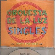 CDs de Musique: ORQUESTA DE LA LUZ - SINGLES (SIETE TEMAS) (CDSINGLE CAJA PROMO, ARIOLA 1992). Lote 202760298