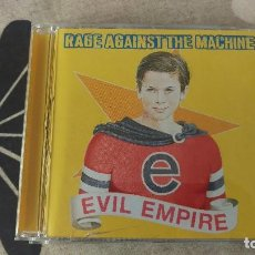 CDs de Música: RAGE AGAINST THE MACHINE EVIL EMPIRE. Lote 202761067