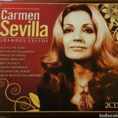 CDs de Música: MUSICA GOYO - CD ALBUM - CARMEN SEVILLA - GRANDES ÉXITOS - DOBLE - RARISIMO- AA99. Lote 202765593