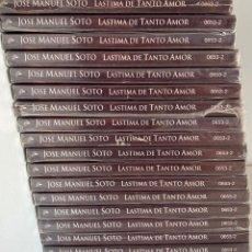 CDs de Música: LOTE DE 17 CD CDS JOSE MANUEL SOTO LASTIMA DE TANTO AMOR 12 TRACKS AQUITIENESLOQUEBUSCA ALMERIA. Lote 194646807