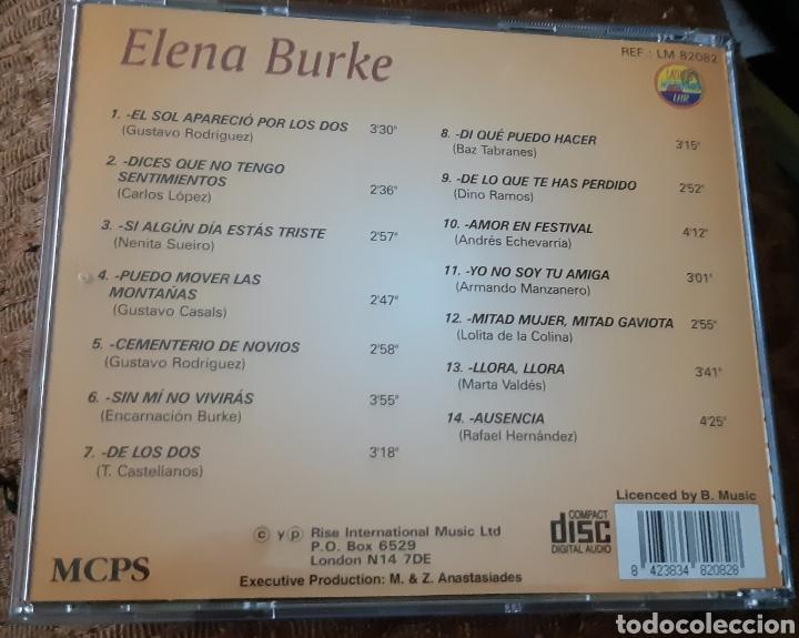 CDs de Música: MUSICA GOYO - CD ALBUM - ELENA BURKE - LA VOZ DEL BOLERO CUBANO- RARÍSIMO- AA99 - Foto 2 - 202767682