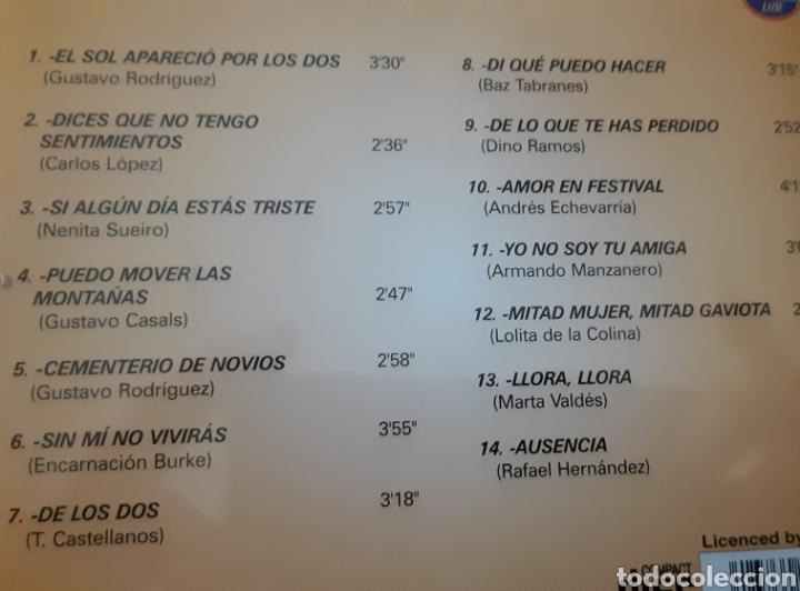 CDs de Música: MUSICA GOYO - CD ALBUM - ELENA BURKE - LA VOZ DEL BOLERO CUBANO- RARÍSIMO- AA99 - Foto 3 - 202767682