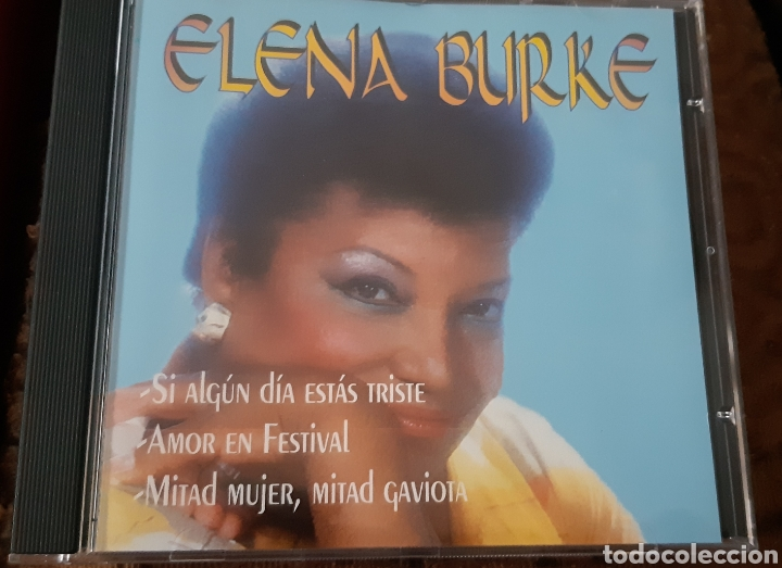 MUSICA GOYO - CD ALBUM - ELENA BURKE - LA VOZ DEL BOLERO CUBANO- RARÍSIMO- AA99 (Música - CD's Latina)