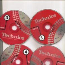 CDs de Música: 1528.TECNICHS (4 CD). Lote 202781190