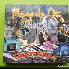 CDs de Música: MAGO DE OZ - FOLKTERGEIST - DIGIPACK - DOBLE CD - 2002 - COMPRA MÍNIMA 3 EUROS. Lote 202786446