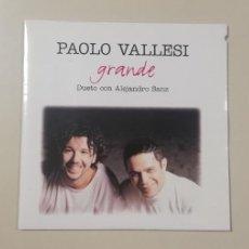 CDs de Música: 0520- PAOLO VALLESI GRANDE DUETO CON ALEJANDRO SANZ CD PROMO PRECINTADO. Lote 202787116
