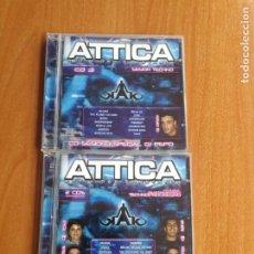 CDs de Música: ATTICA ACTIVIDAD CONSTANTE 3 CDS TECHNO PROGRESIVO 2002. Lote 202826957
