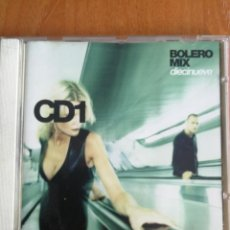 CDs de Música: BOLERO MIX DIECINUEVE 19 CD1 BLANCO Y NEGRO 2002. Lote 202827242