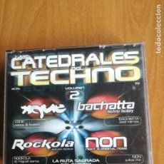 CDs de Música: CATEDRALES DEL TECHNO VOLUMEN 2 4 CDS XQUE ROCKOLA NON Y BACHATTA. Lote 202827420