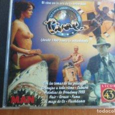 CDs de Música: CINE EN LA ERA DE LA TELEVISION DESDE 1960 A 1998 CDPLUS ENCICLOPEDIA DEL CINE LICOR 43 MAN. Lote 202827522