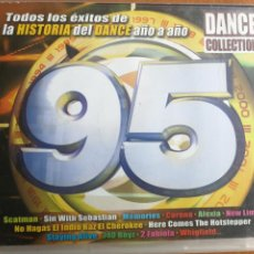 CDs de Música: DANCE COLLECTION 95 EXITOS DE LA HISTORIA DANCE AÑO A AÑO. Lote 202827857
