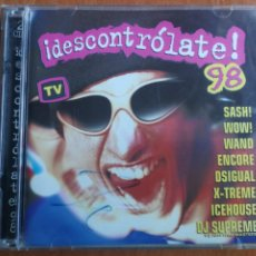 CDs de Música: DESCONTROLATE 98 2 CDS 1998. Lote 202828055