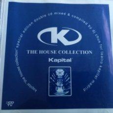 CDs de Música: THE HOUSE COLLECTION KAPITAL TEATRO MADRID 2CDS 2001. Lote 202828906