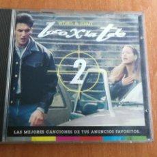 CDs de Música: LOCO X POR LA TELE 2, LAS MEJORES CANCIONES DE ANUNCIOS 1993. Lote 202829345