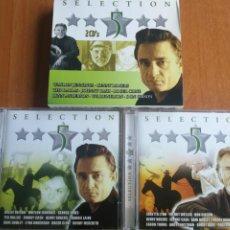 CDs de Música: SELECCTION 5 ESTRELLAS 2 CDS MUSICA COUNTRY KENNY ROGERS, TED DALLAS JOHNNY CASH…2004. Lote 202829772