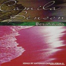 CDs de Música: CAMILA BENSON – DESAFINADO - SONGS BY ANTONIO CARLOS JOBIM II - NUEVO Y PRECINTADO. Lote 202855712