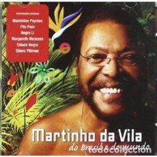 CDs de Musique: MARTINHO DA VILA – DO BRASIL E DO MUNDO - NUEVO Y PRECINTADO. Lote 202857000