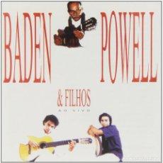 CDs de Música: BADEN POWELL – BADEN POWELL & FILHOS - AO VIVO - NUEVO Y PRECINTADO. Lote 202860037